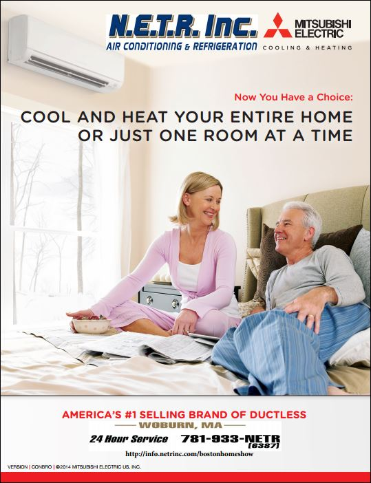 Greater Boston's #1 Installer of Ductless Heating and Cooling Systems
